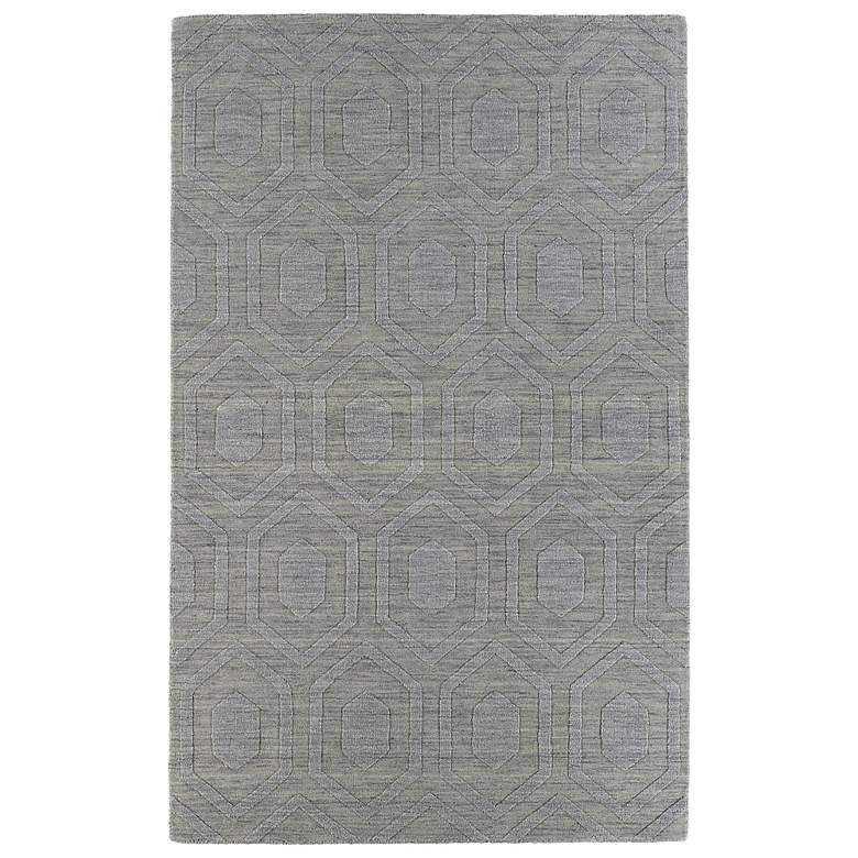 Kaleen Imprints Modern IPM01-83 Steel Hexagon 5'x8' Rug