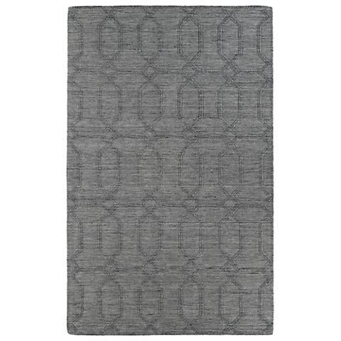 Kaleen Imprints Modern IPM03-75 Gray Area Rug