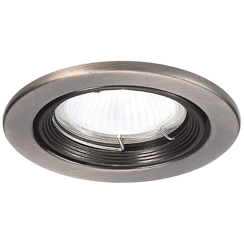 "WAC 2 1/2"" Brushed Nickel Low Voltage Downlight Trim"