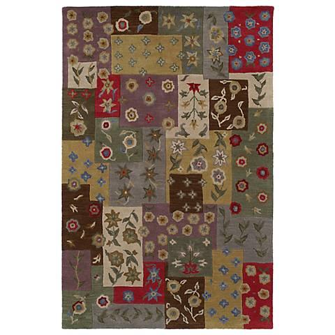 Kaleen Khazana 6553-01 Ivory Wool Area Rug