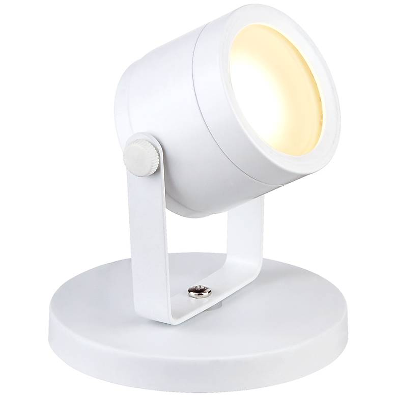 """Ladera 5"""" High LED Accent-Uplight in White"""