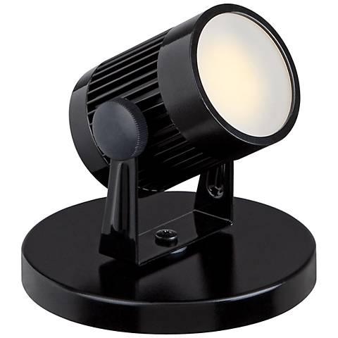 "Downey 2 3/4"" High LED Mini-Uplight in Black"
