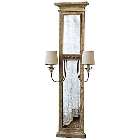 "Regina Andrew Design Provence 62"" Mirror Panel Sconce"