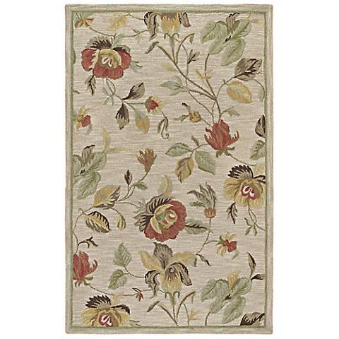 Kaleen Khazana 6557-42 Savannah Linen Wool Area Rug