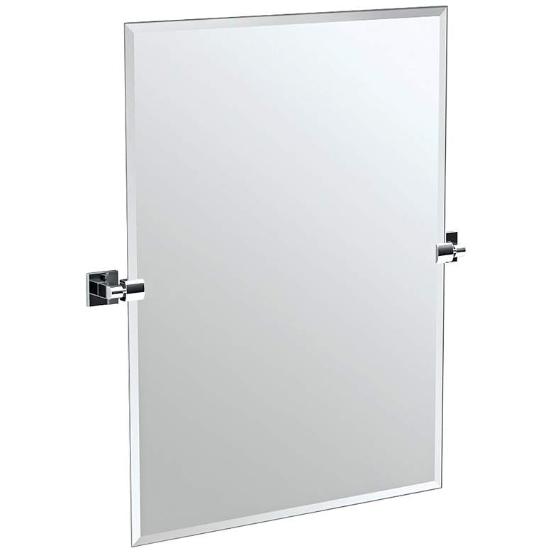 "Gatco Elevate Chrome 27 1/2"" x 31 1/2""  Wall Mirror"