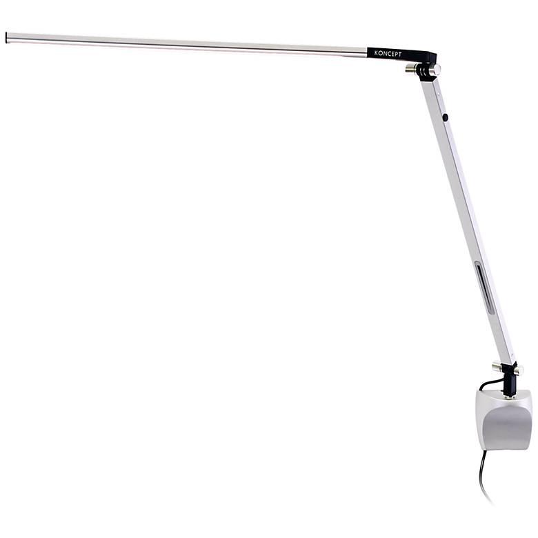 Koncept Gen 3 Z-Bar Solo Warm Light LED Silver Wall Lamp