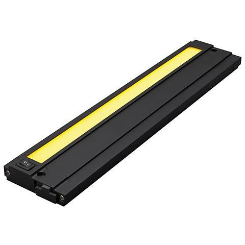 "Tech Unilume 90 CRI 13"" Wide LED Black Undercabinet Light"