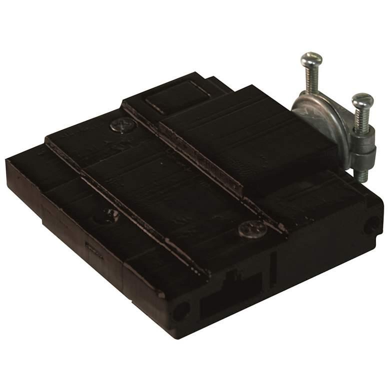 Tech Unilume Black Undercabinet Light Splice Box