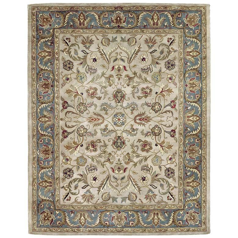 Kaleen Mystic 6001-01 William Ivory Wool Area Rug