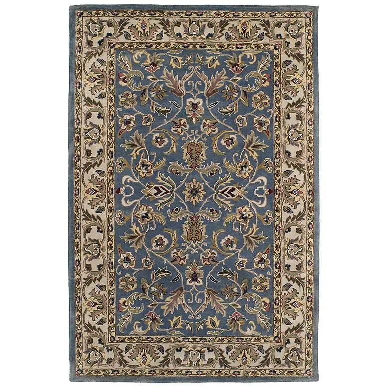 Kaleen Mystic 6001-17 William Blue Wool Area Rug