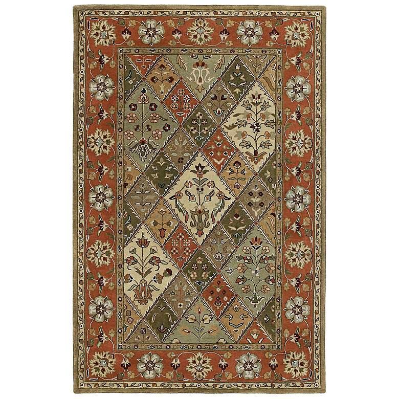 Kaleen Mystic 6040-26 Canterburg Tartan Wool Rug