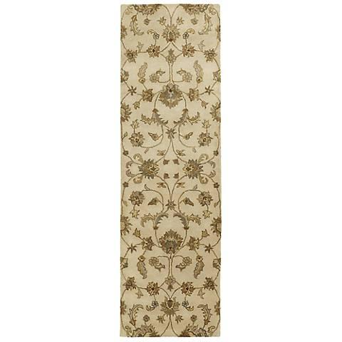 Kaleen Mystic 6060-01 Europa Ivory Wool Area Rug