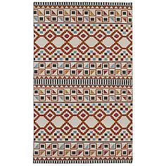 Kaleen Nomad NOM08-53 Paprika 8'x10' Wool Area Rug