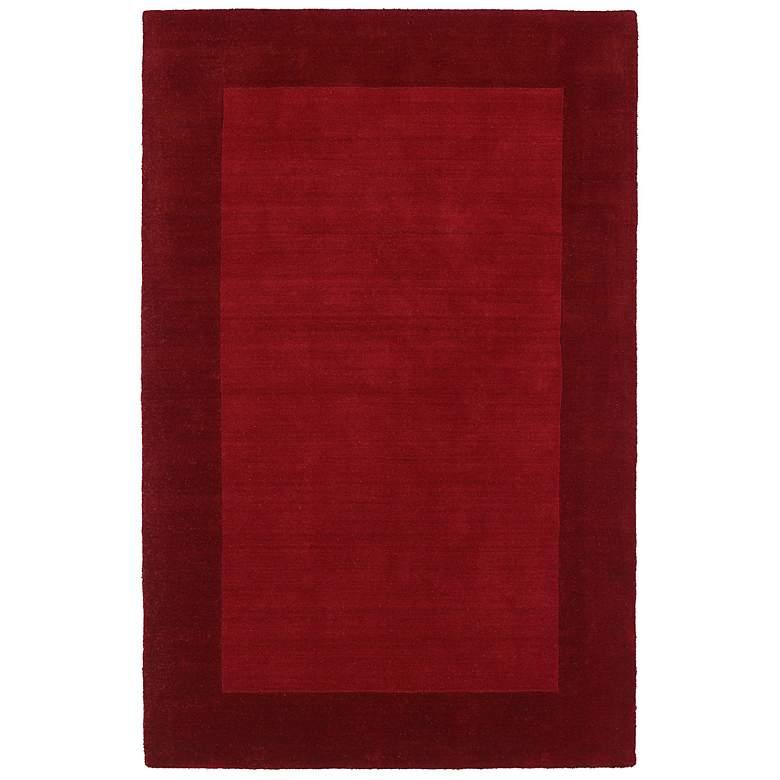 """Kaleen Regency 7000-25 Red 5'x7'9"""" Wool Area Rug"""