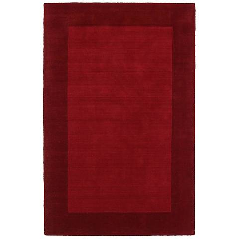 Kaleen Regency 7000-25 Red Wool Area Rug