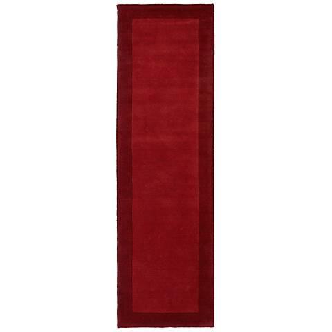 Kaleen Regency 7000-25 Red Wool Area Rug