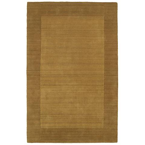 Kaleen Regency 7000-28 Yellow Wool Area Rug