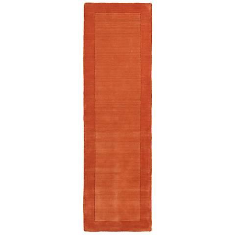 Kaleen Regency 7000-31 Pumpkin Wool Area Rug