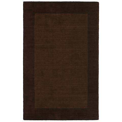 Kaleen Regency 7000-49 Brown Wool Area Rug