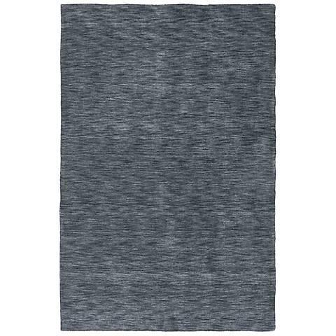 Kaleen Renaissance 4500-38 Charcoal Wool Area Rug