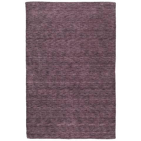 Kaleen Renaissance 4500-65 Aubergine Wool Area Rug