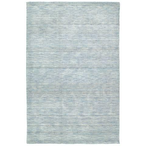 Kaleen Renaissance 4500-66 Azure Wool Area Rug