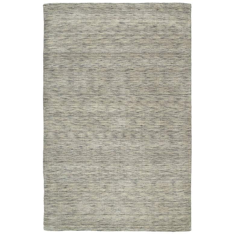 "Kaleen Renaissance 4500-68 Graphite 5'x7'6"" Wool Area Rug"