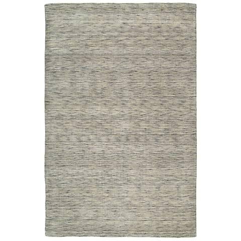 Kaleen Renaissance 4500-68 Graphite Wool Area Rug