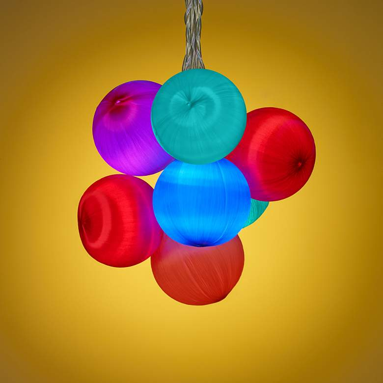 Multi-Colored Balls 20-Light LED Party String Lights