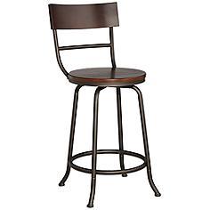 A Fresh Idea For Bar Seating Easy Access Swivel Seats