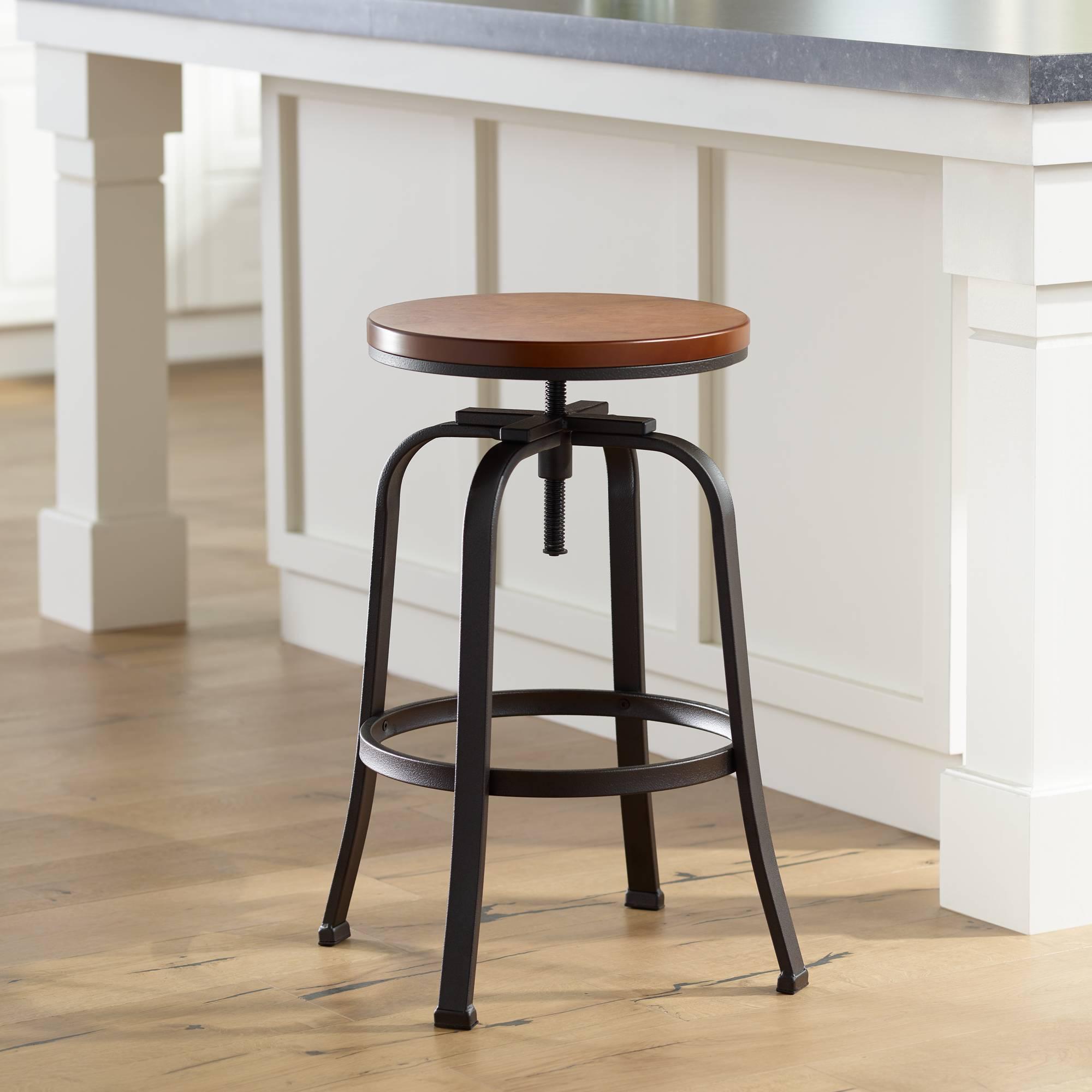 Prime Details About Radin Hammered Bronze Adjustable Height Swivel Bar Stool Cjindustries Chair Design For Home Cjindustriesco