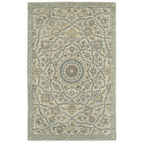 Kaleen Solomon 4055-01 Nehemiah Ivory Wool Area Rug