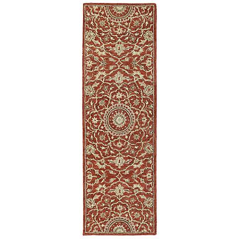 Kaleen Solomon 4055-25 Nehemiah Red Wool Area Rug