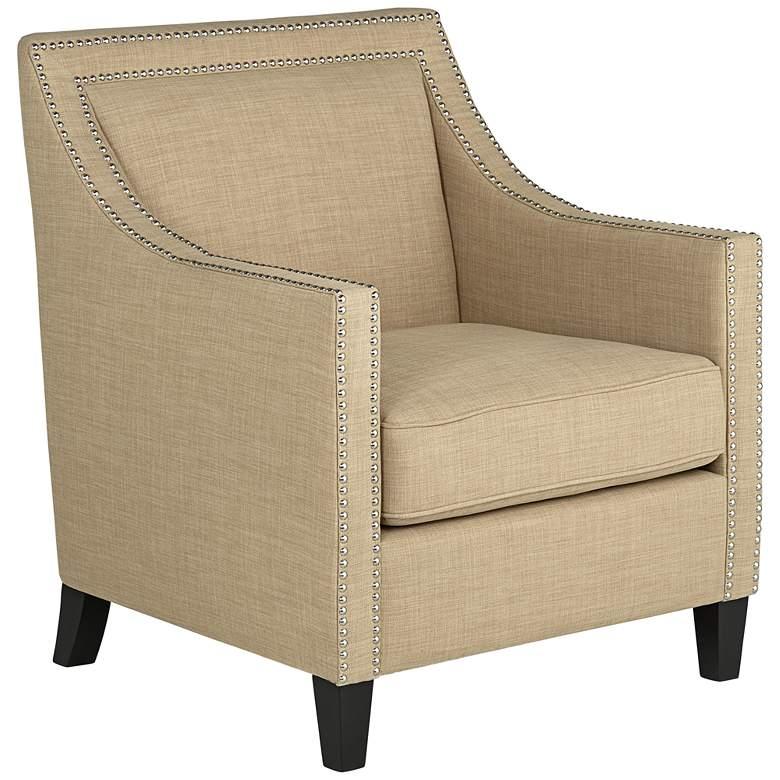 Flynn Heirloom Camel Upholstered Armchair