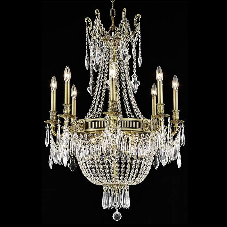 "Esperanza Collection 26"" Wide French Gold Chandelier"