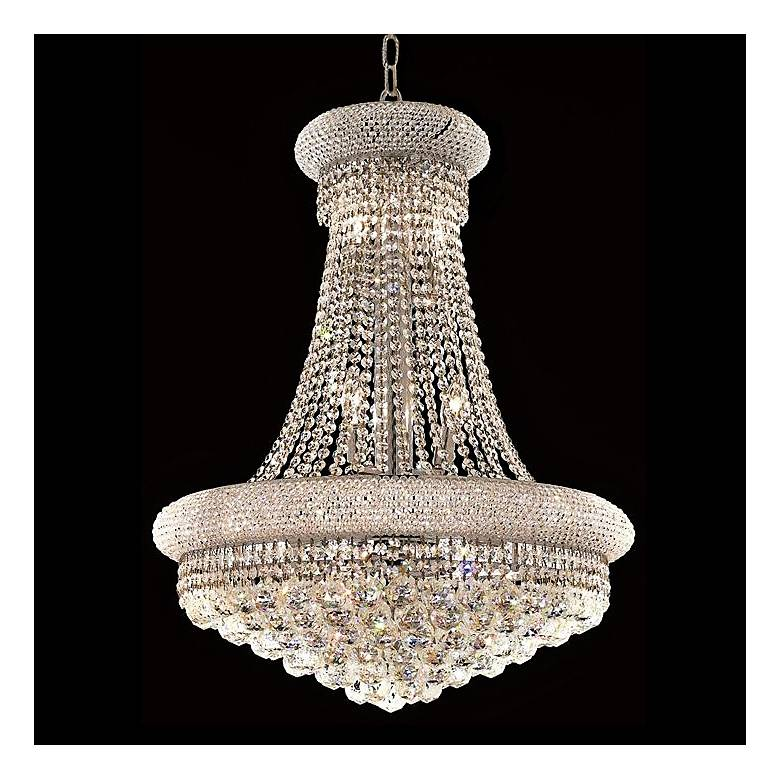 """Primo Collection 28"""" Wide Royal Cut Crystal Chandelier"""