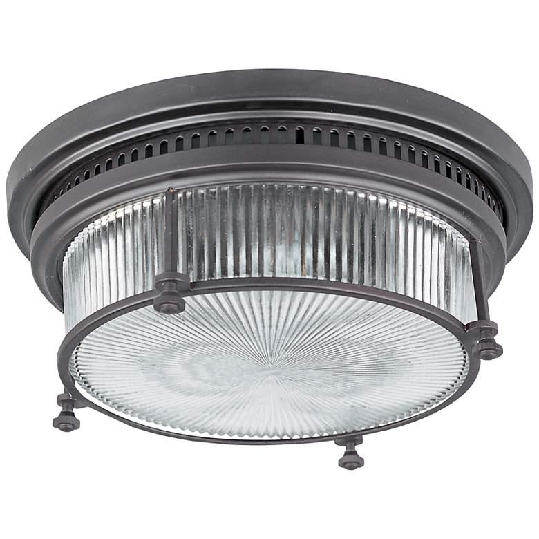 "Maxim Hi-Bay 13"" Wide Bronze Ceiling Light"