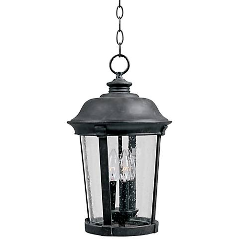"Maxim Dover DC 17"" High Bronze Outdoor Hanging Lantern"