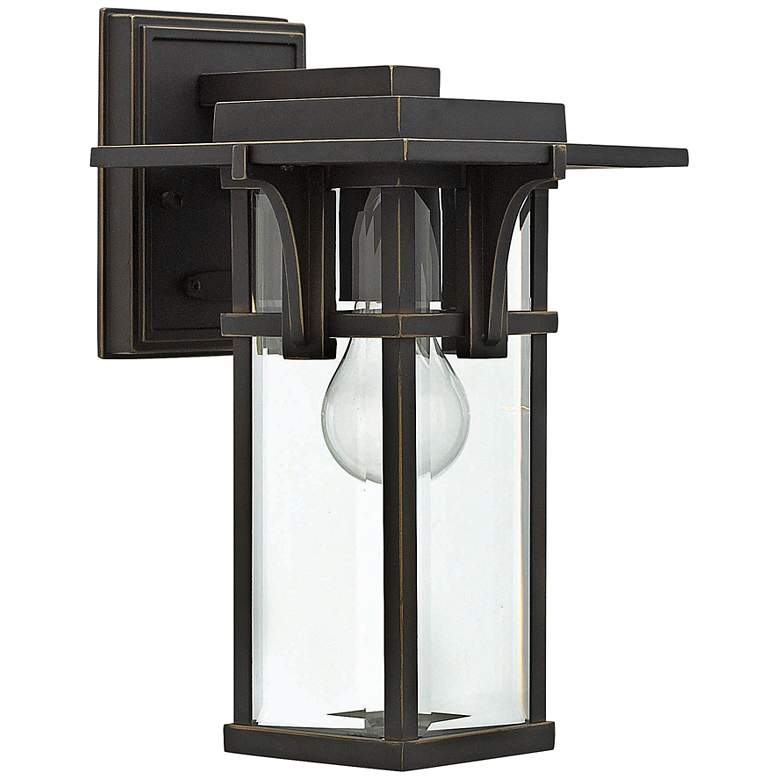 "Hinkley Manhattan 11 3/4"" High Bronze Outdoor Wall Light"