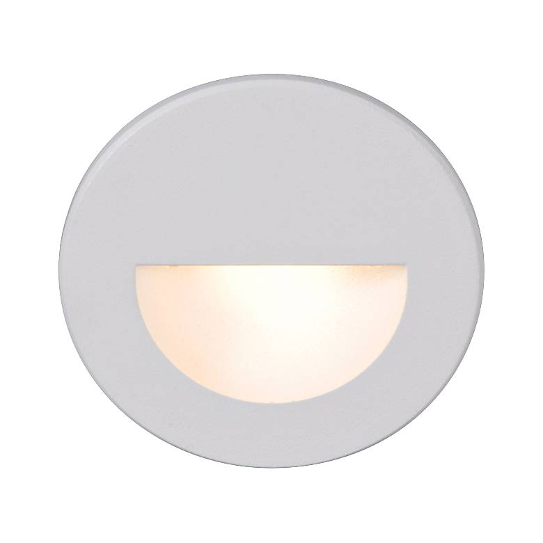 WAC LEDme® White Round Step Light