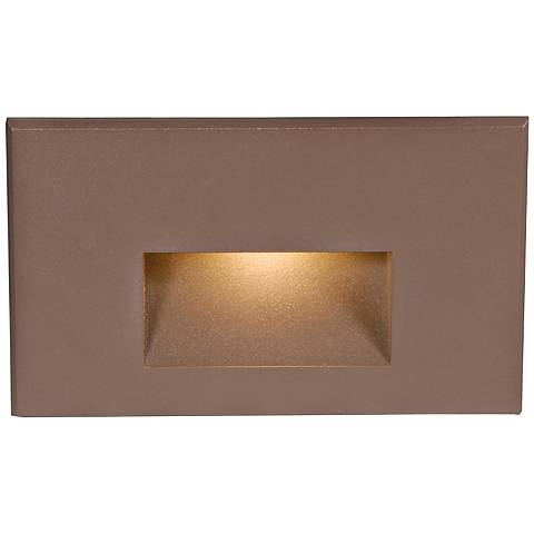 "WAC LEDme® 5"" Wide Bronze Step Light"
