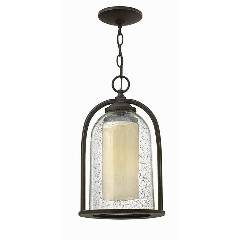 """Hinkley Quincy 15 1/2"""" High Hanging Outdoor Light"""