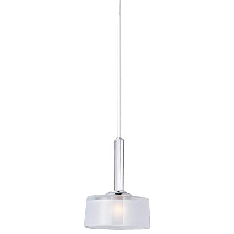 "Maxim Elle 6 1/2"" Wide Chrome Mini Pendant"
