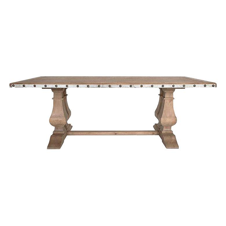 Maddox Antique Pine Dining Table