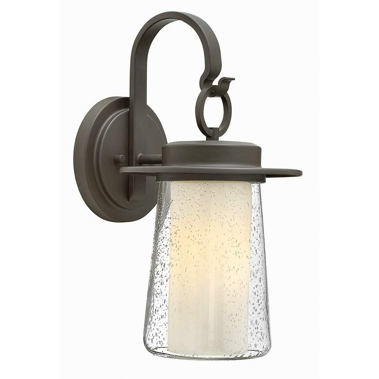 "Hinkley Riley 17 1/2"" High Bronze Outdoor Wall Light"