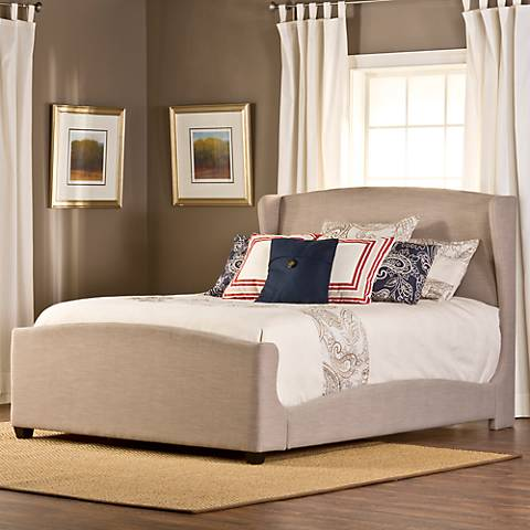 Barrington Khaki Linen Bed