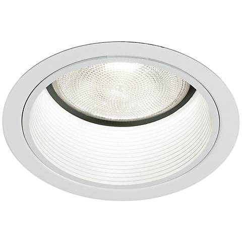 "Thomas Lighting 5"" Trim White Stepped Baffle"