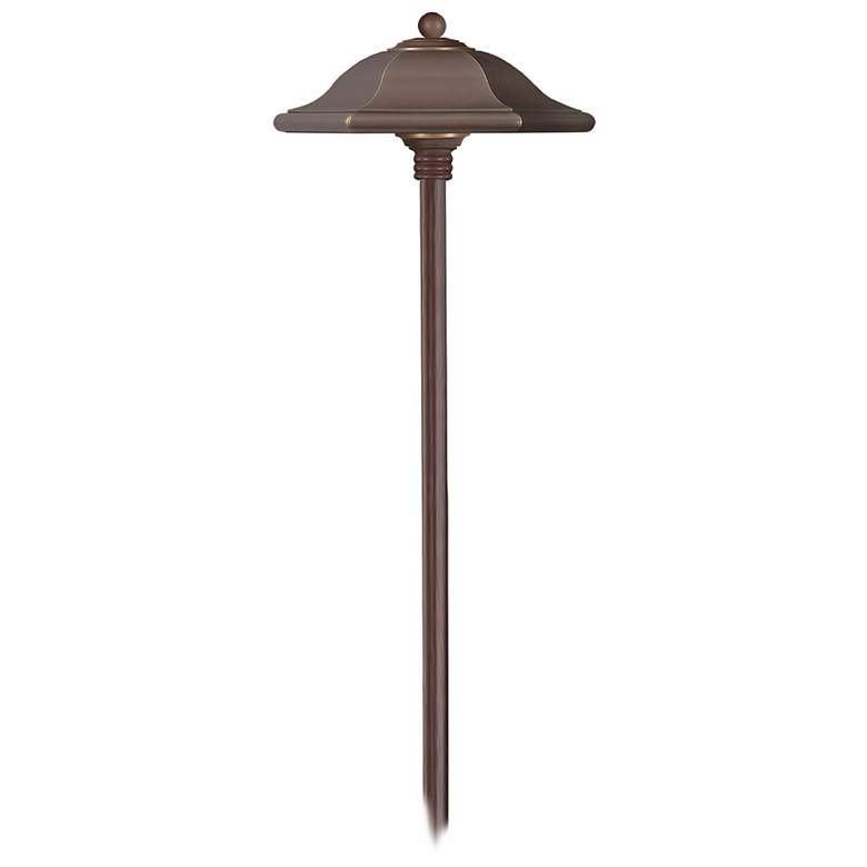 "Hinkley Monticello 22""H Copper Bronze Low Voltage Path"