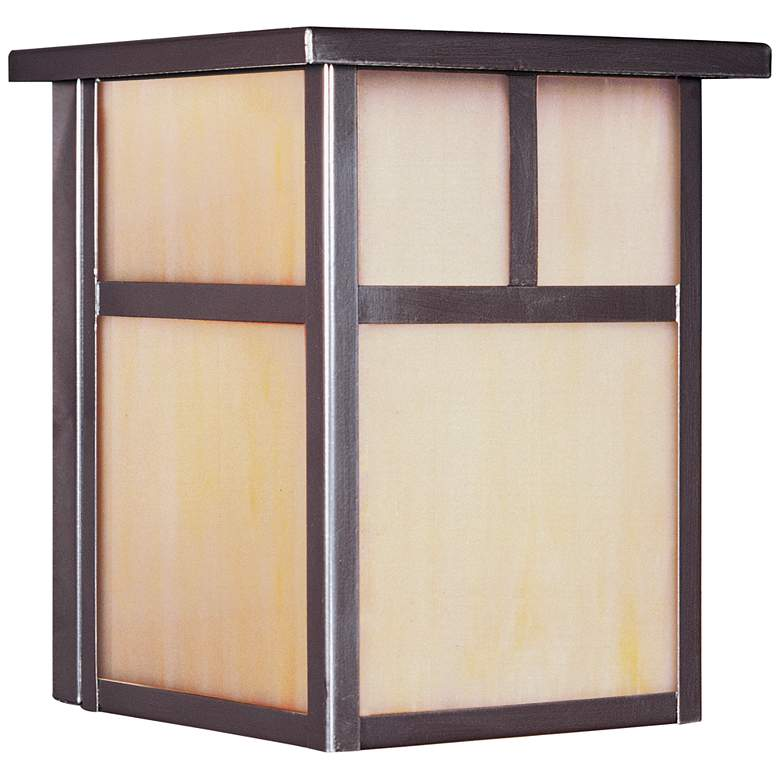 """Maxim Coldwater 7 1/2"""" High Burnished Outdoor Wall Light"""