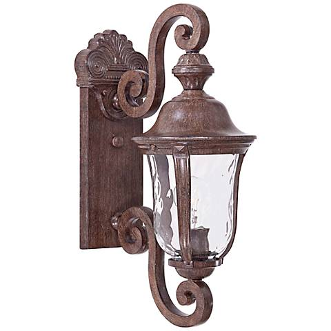 "Ardmore 19 3/4"" High Rust Outdoor Wall Light"